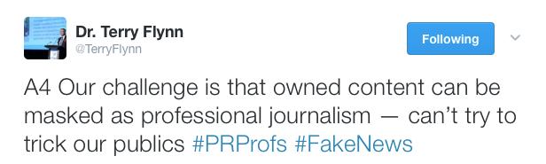 Fake News Tweet2