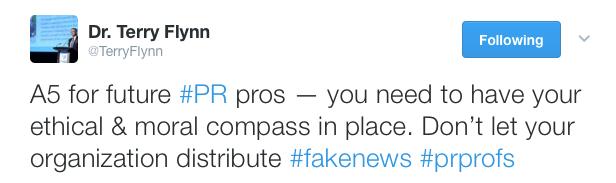 Fake News Tweet3